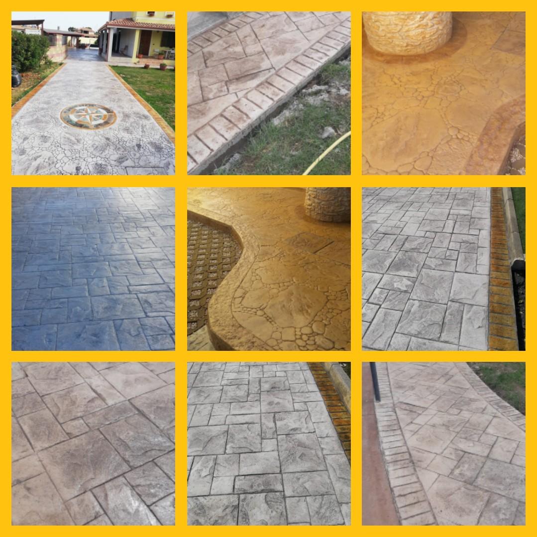 Posa Pavimento A Secco Giardino pavimentazione da giardino - verde impianti oristano
