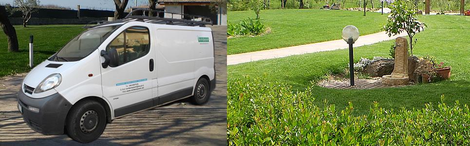 sfalcio erba , giardinaggio, giardiniere a Oristano,
